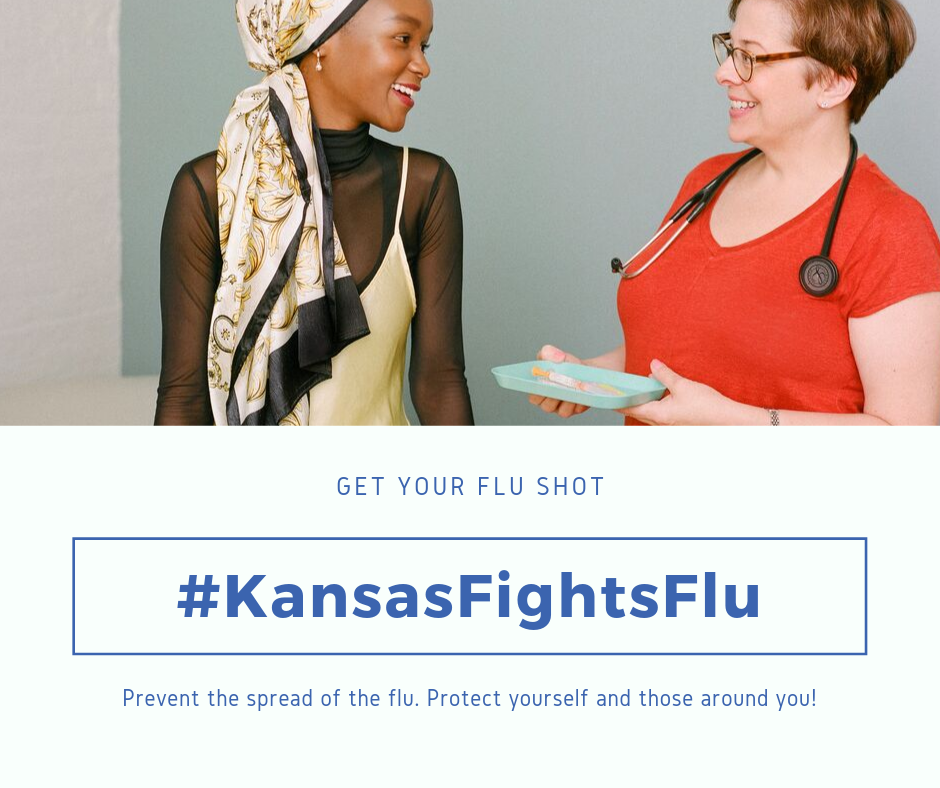 IKC Kansas Fights Flu Promote the Flu Shot