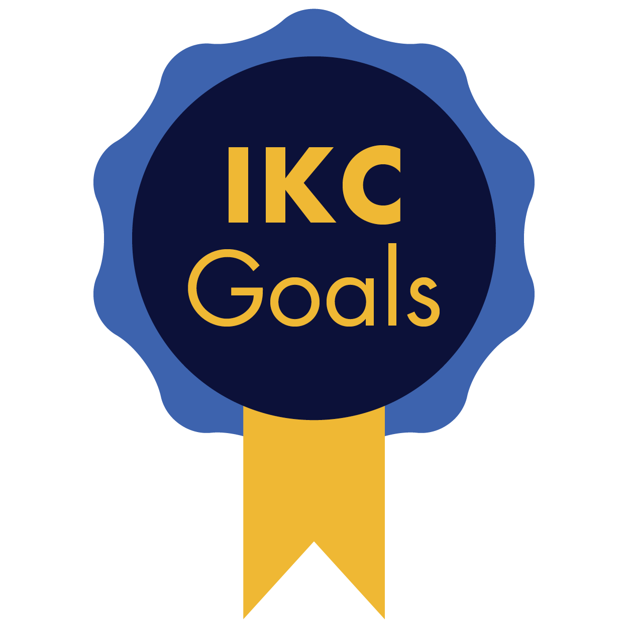 IKC Goals Ribbon